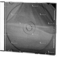 Бокс на 1 CD диск Slim черный (CDB-sl) (отгрузка кратно 200 шт)