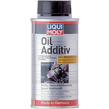 LIQUI MOLY Антифрикционная присадка с дисульфидом молибдена в моторное масло Oil Additiv 0,125Л