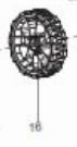 """Колесо переднее 7"""" для ELM4110/ELM4610 (671002012) MAKITA 671002012"""