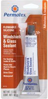 Силиконовый герметик PERMATEX Flowable Silicone Windshield & Glass Sealer 0,042 кг