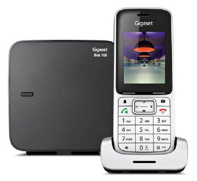 Радиотелефон Gigaset SL450 серебристый