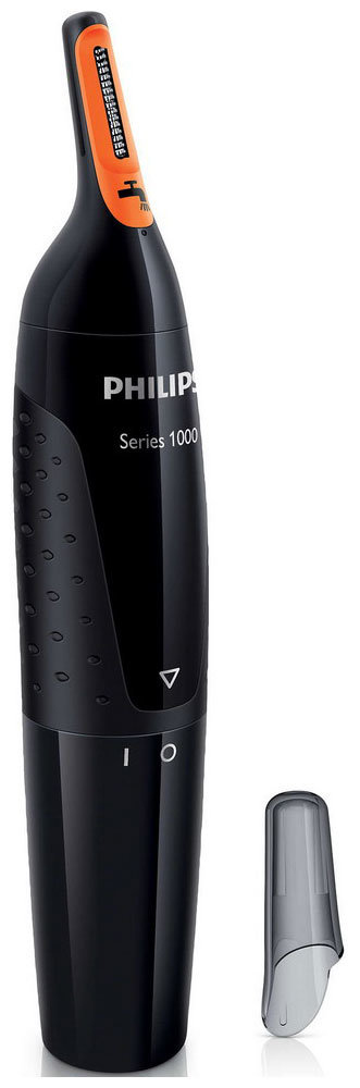 Триммер для стрижки волос Philips NT 1150/10 Nosetrimmer series 1000 черный