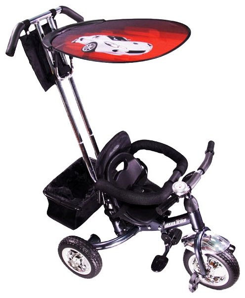 Велосипед трехколесный Liko Baby LB 772, red