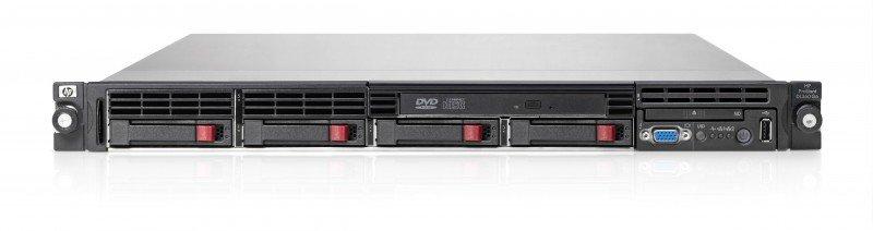Сервер HP DL360R06 E5504 (Rack1U XeonQC 2.0Ghz(4Mb) /2x2GbRD/P410i(256Mb/RAID5/5+0 /1+0/1/0)/2x146Gb10k(4(8up)) SFF/DVDRW/iLO2std/2xGigEth/1xR PS460) [470065-233]