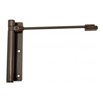 Дверные доводчики Aldeghi Luigi 114AZ170D Доводчик дверной пружинный до 60КГ Aldeghi Геркулес (170X39 mm) коричневый