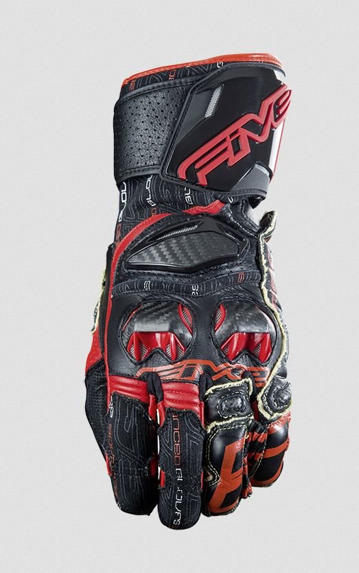 Перчатки Five перчатки rfx race черно/красные 11/XL