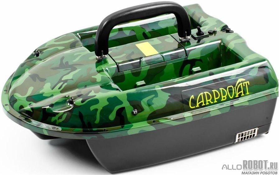 Прикормочный кораблик Carpboat Camo 2,4GHz