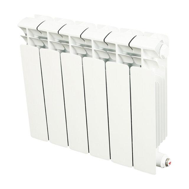 радиатор биметаллический rifar base 6 сек