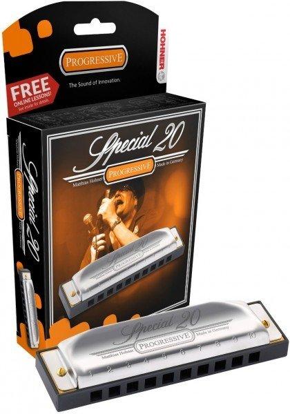 HOHNER Special 20 560/20 C (M560016X) губная гармоника - Richter Classic, корпус пластик. Доступ на 30 дней к бесплатным урокам