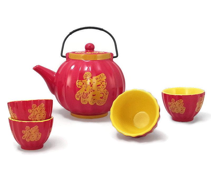 Чайный сервиз Dragon Seeds
