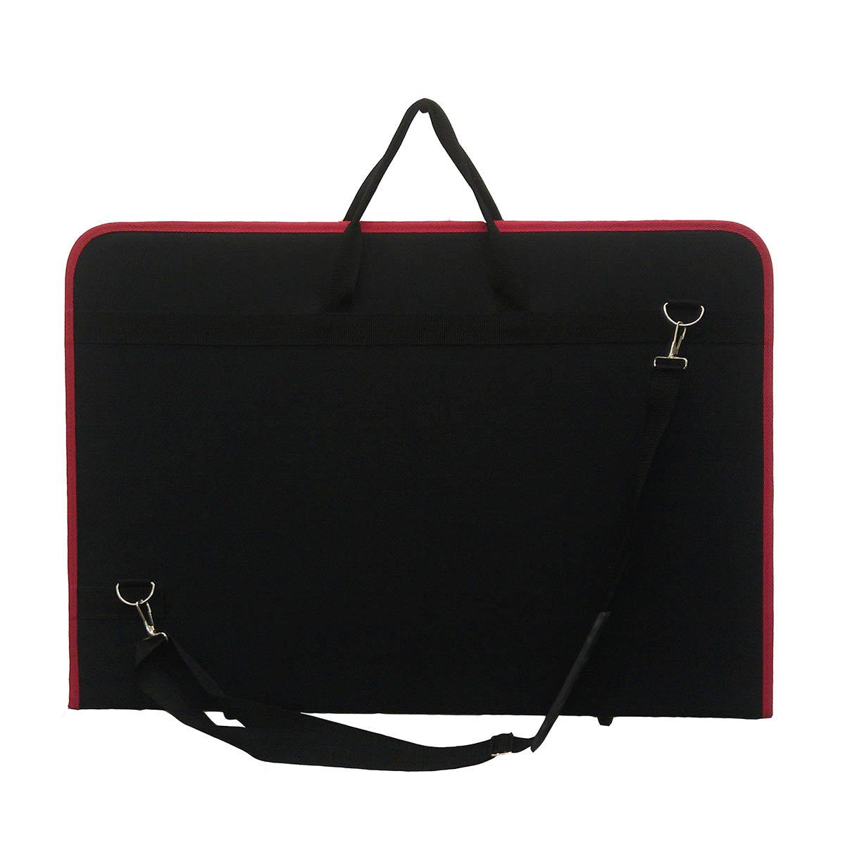 Рюкзак художника 50х35х17см ткань черный купить по цене 1