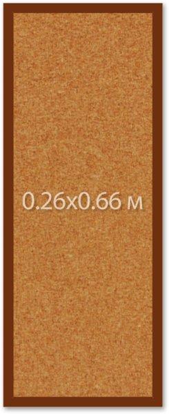 Пробковая доска 0.26х0.66 м. ИП Севостьянов Пробковая доска 0.26х0.66 м.