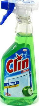 """Средство для мытья окон Clin """"Яблоко"""" (500 мл)"""