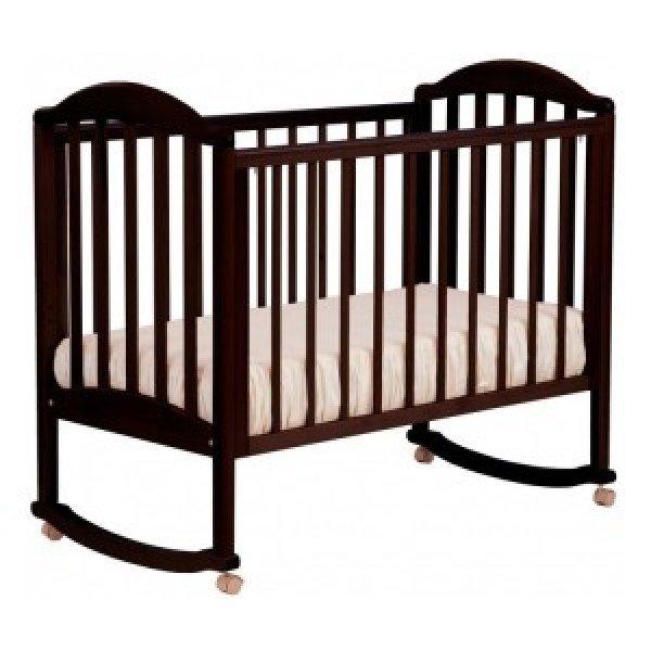 Детская кроватка Лель (Кубаньлесстрой) АБ 17.0 Лилия Люкс (колесо/качалка)