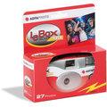 Одноразовый фотоаппарат AGFA LeBox 400/27, со вспышкой