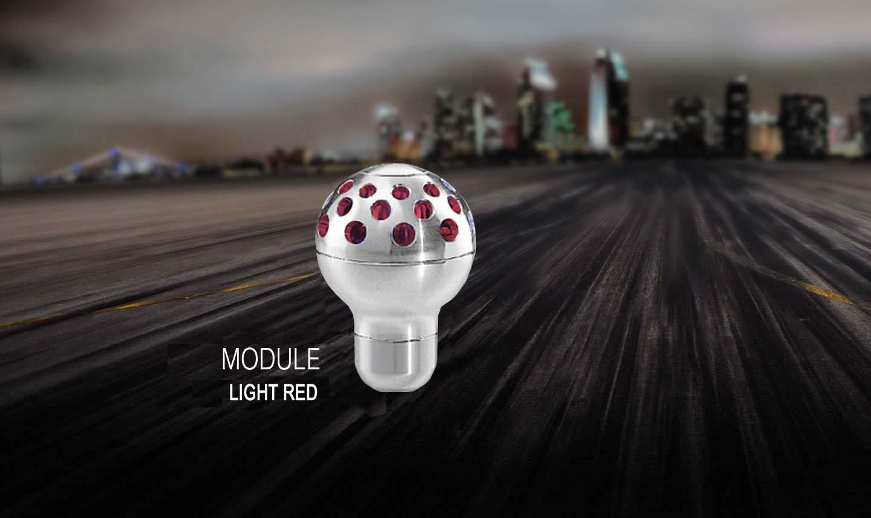 Ручка кпп momo (момо) Module Light Red