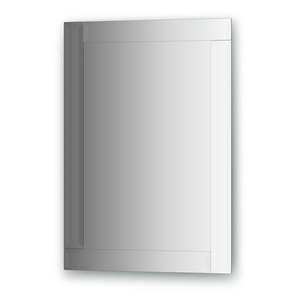Зеркало Evoform Style (BY 0802) (с зеркальным обрамлением) (50 см) (серебро)