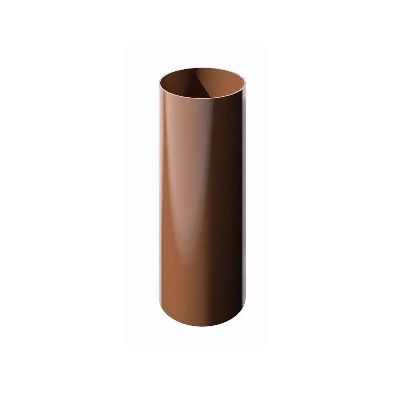Труба ТН ПВХ коричневая 1.5 м х 82 мм