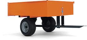 Тракторный прицеп HUSQVARNA Profi 9535117-02 для тракторов, райдеров