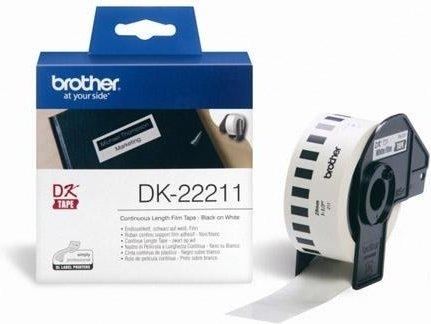 Пленочная клеящаяся лента Brother DK-22211