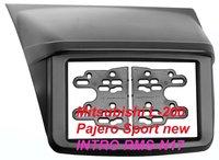 Переходная рамка Intro RMS-N17 для Mitsubishi L-200, Pajero Sport New 2DIN (накладка)