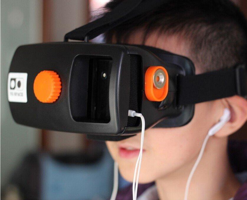 3D VR Шлем виртуальной реальности для смартфона 4-5,7