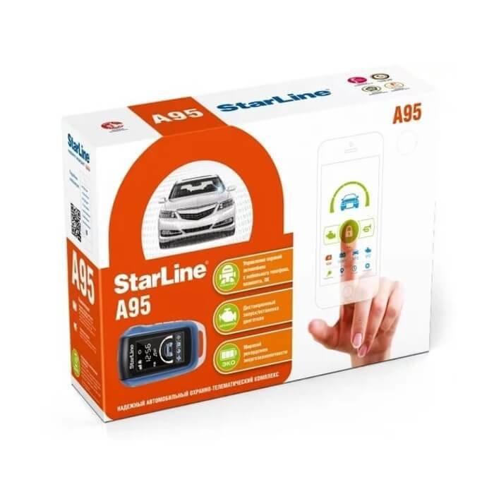 Автосигнализация StarLine A95 BT CAN-LIN