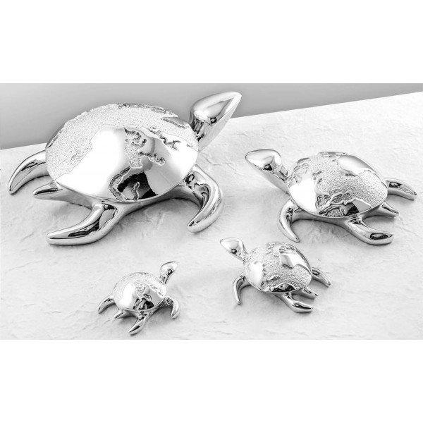 "Статуэтка ""Черепаха с картой мира"", Размер 8х6"