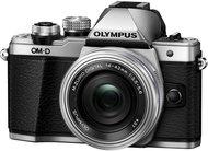 Фотоаппарат со сменной оптикой Olympus OM-D E-M10 Mark II Kit 14-42mm EZ (серебристый) - фото 1