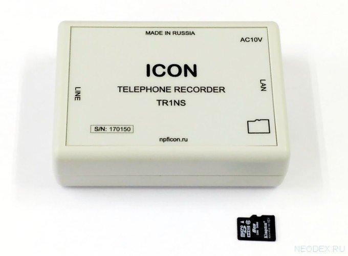 ICON TR1NS устройство записи телефонных разговоров ( IC-TR1NS )