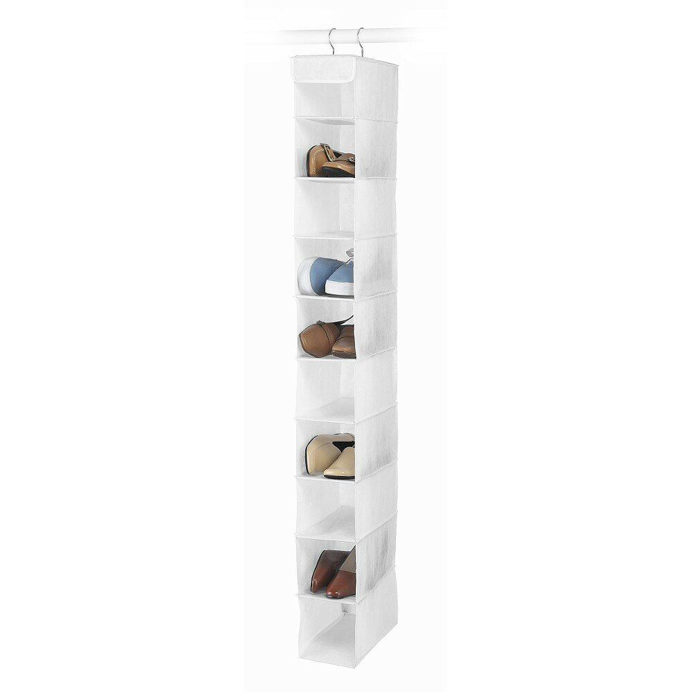 Подвесной кофр для обуви (Whitmor)