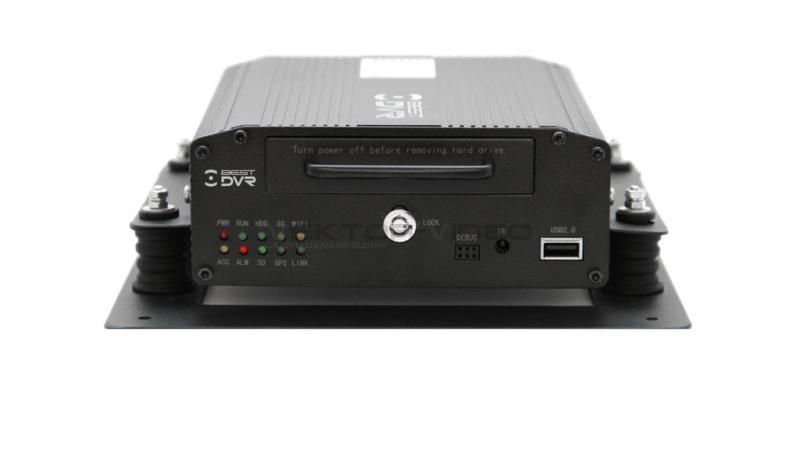 BestDVR-407Mobile HDD-01 4-х канальный мобильный регистратор