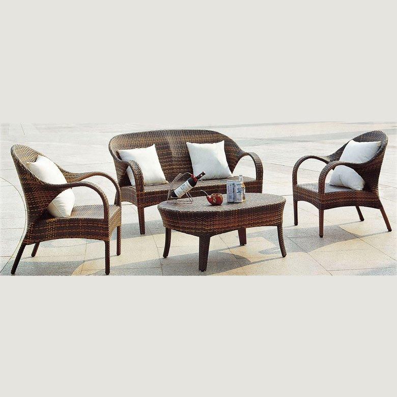 Комплект плетеной мебели КМ-0040 Kvimol