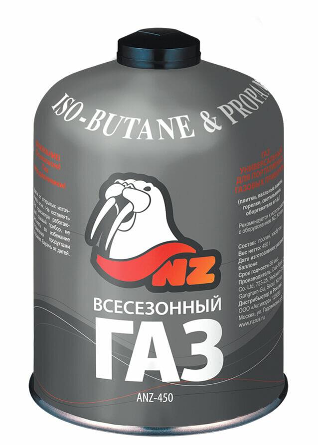 Баллон газовый резьбовой NZ ANZ-450
