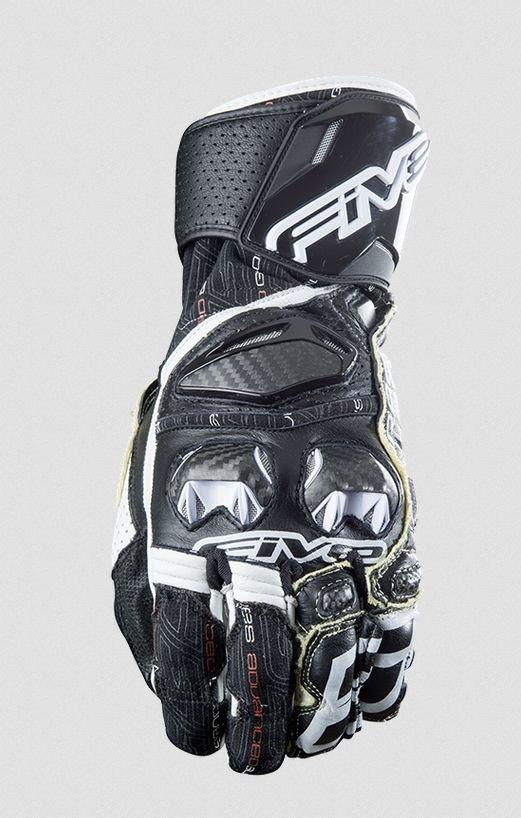 Перчатки Five перчатки rfx race черно/белые 9/M