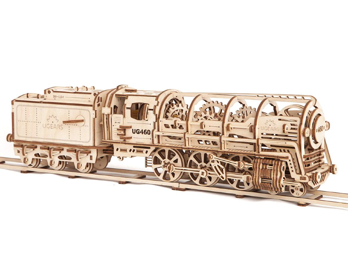 Сборная модель локомотив UGEARS 1:32