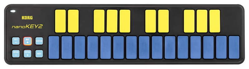 MIDI-клавиатура 25 клавиш Korg nanoKEY 2 Limited Blue