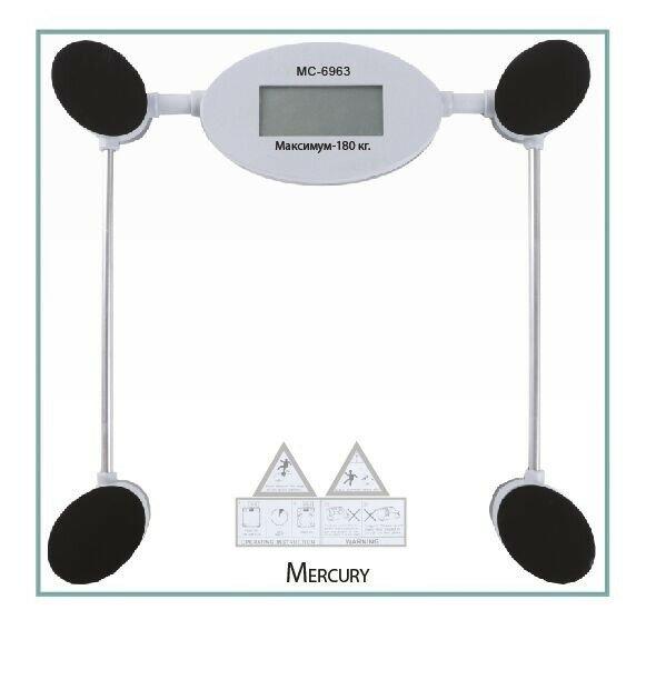 Электронные напольные весы Mercury, до 180 кг