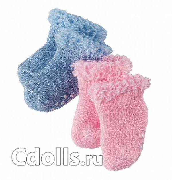 Gotz Non-slip Socks (Нескользящие носки для кукол Готц 30 - 48 см)
