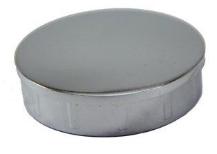 Заглушка металлическая на трубу 50мм хром (joker18.50)
