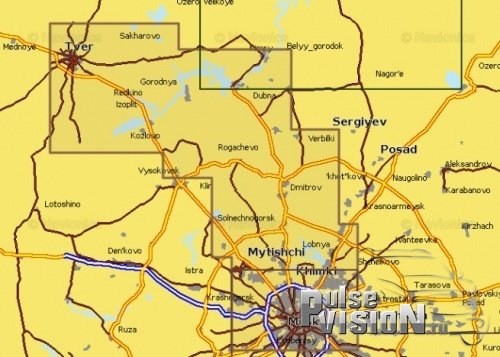 Карта Navionics 5G620S2 Канал имени Москвы