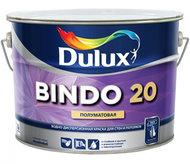 Dulux Bindo 20 краска воднодисперсионная полуматовая для стен и потолка. Стойкая к мытью. База BW (ACOMIX)