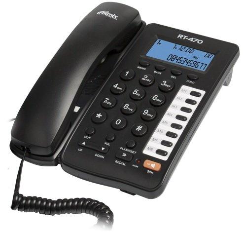 Телефон проводной RITMIX RT-470