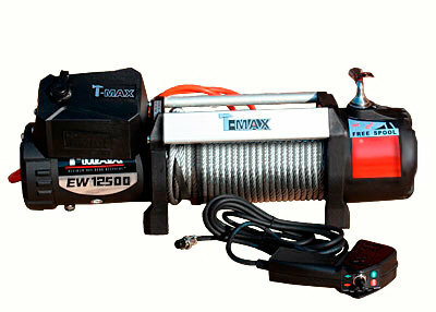 Лебедка электрическая T-Max HEW-12500 X Power