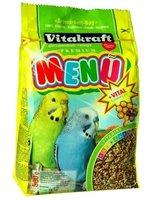 Корм для волнистых попугаев Vitakraft Premium Menu Vital основной 1кг