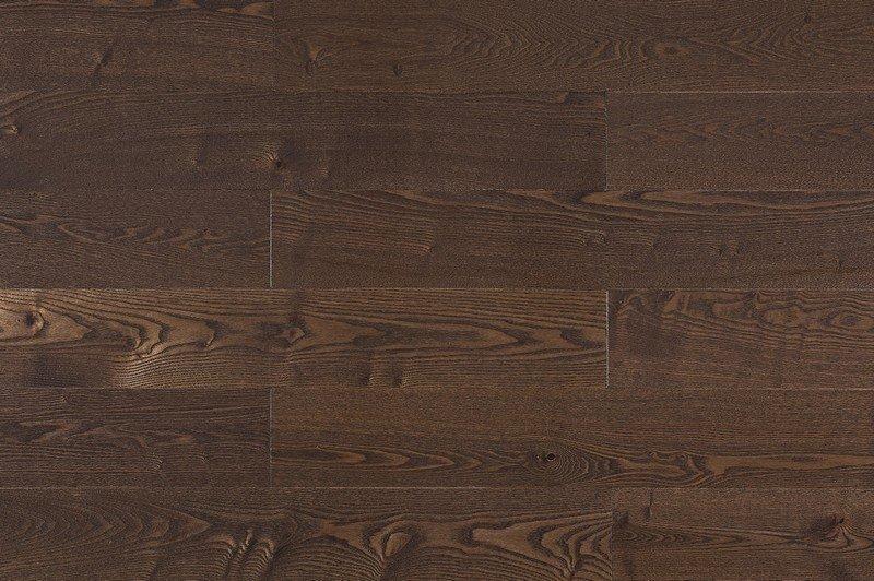 Массивная доска Amber Wood (Амбер Вуд) Классик Ясень Кофе / Ash Coffee 300-1800х120х18 мм