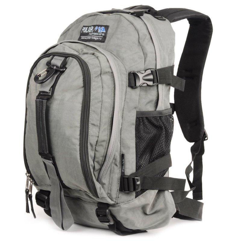 Рюкзак POLAR INC Polar Adventure П955Ж-06, т.серый