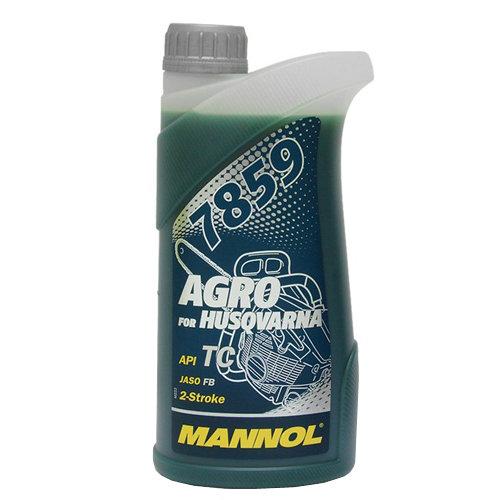 Масло 2-х тактное Mannol Agro for Husqvarna 1л.
