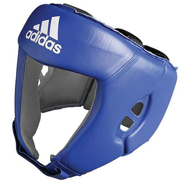 Боксерский шлем Adidas AIBAH1 синий