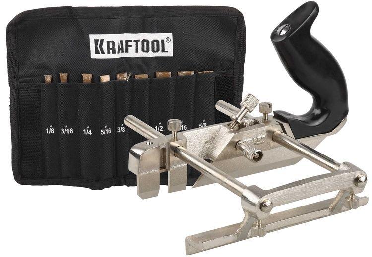 Рубанок металлический в комплекте с ножами Kraftool 1-18541-H9